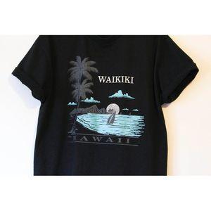 Vintage Shirts - Vintage Waikiki Hawaii Beach T Shirt